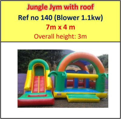 Jungle Jym with roof #140
