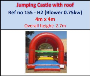 #155 Jumping Castle with roof