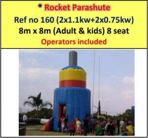 Rocket Parashute #160