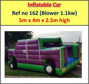 #162 Inflatable Car