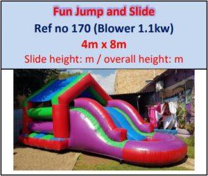 #170 Fun Jump and Slide