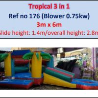 176.tropical 3 In 1
