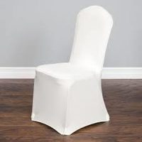 Adult Chair Cover White