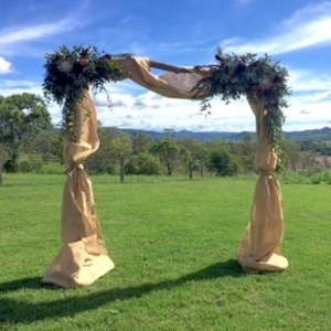 Draping Hessian