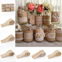 Hessian Table Decor