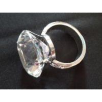 Napkin Ring Wedding Diamond Ring