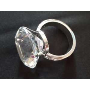 Napkin Ring Wedding Diamond Ring